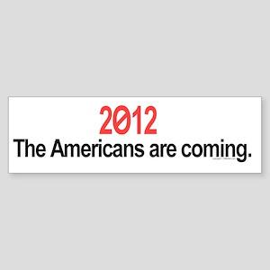 Vote 2012 bumper sticker