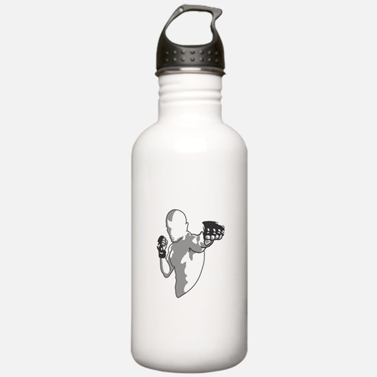Punch (black) Water Bottle