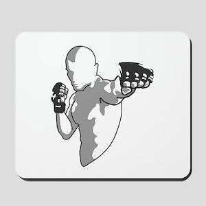 Punch (black) Mousepad