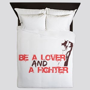 Lover and fighter Queen Duvet