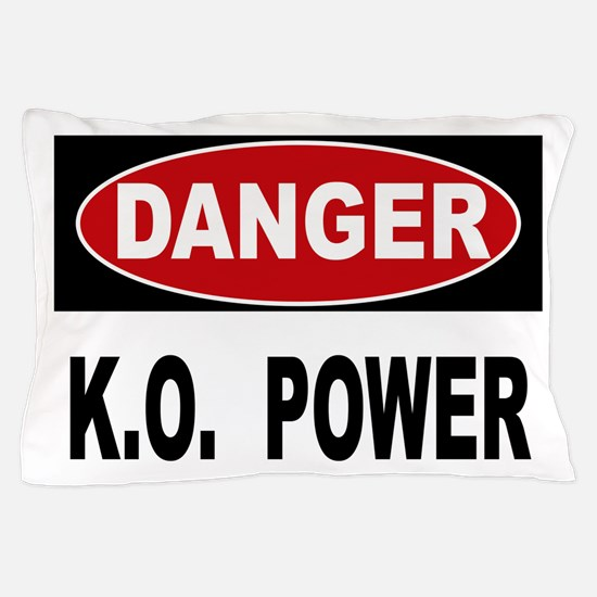 K.O. Power Pillow Case