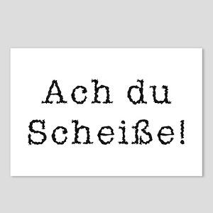 Ach du Scheisse Postcards (Package of 8)