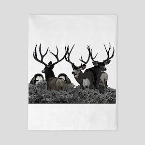 Monster buck deer Twin Duvet