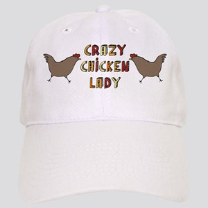 Crazy Chicken Lady Cap