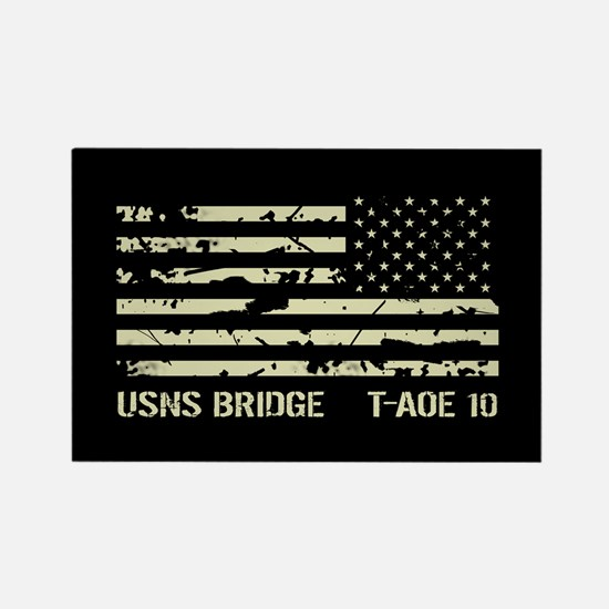 USNS Bridge Rectangle Magnet