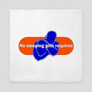 No sleeping pills required Queen Duvet