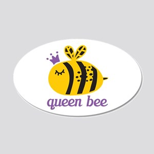 Queen Bee 22x14 Oval Wall Peel