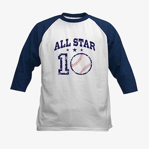 Ten Year Old Baseball Kids Baseball Jersey