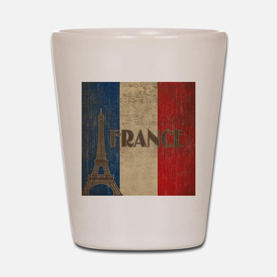 Vintage France Shot Glass