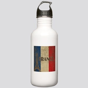 Vintage France Stainless Water Bottle 1.0L