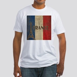 Vintage France Fitted T-Shirt