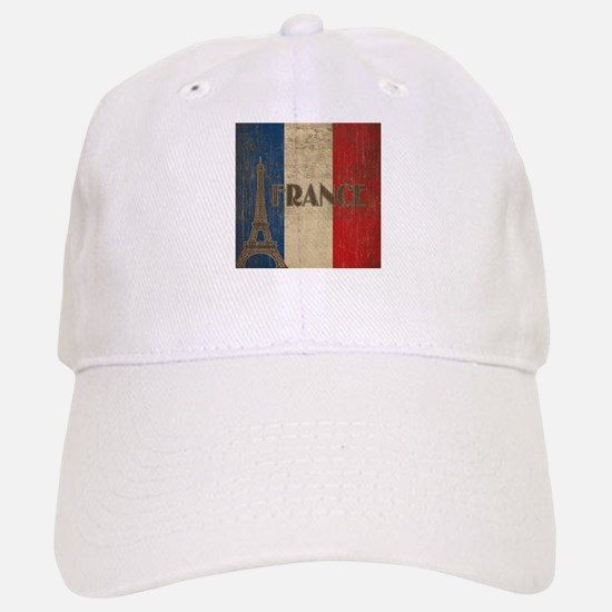 Vintage France Baseball Baseball Cap