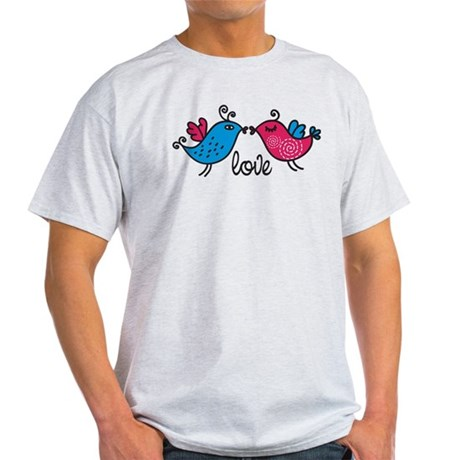 Love Birds Light T-Shirt