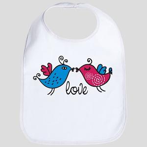 Love Birds Bib