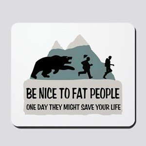Fat People Mousepad