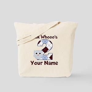 2nd Birthday Owl Tote Bag