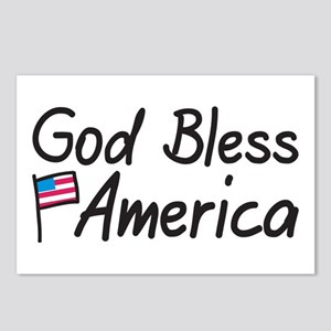 Bless America Postcards (Package of 8)
