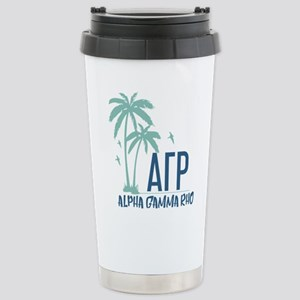 Alpha Gamma Rho Palm Tree Mugs