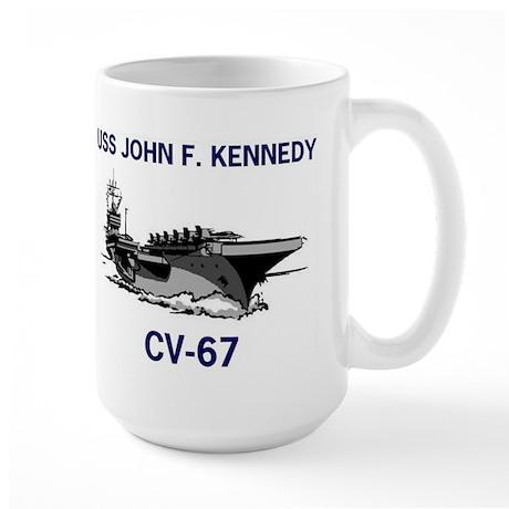 USS KENNEDY Large Mug