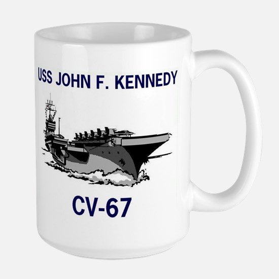 USS KENNEDY Large Mug