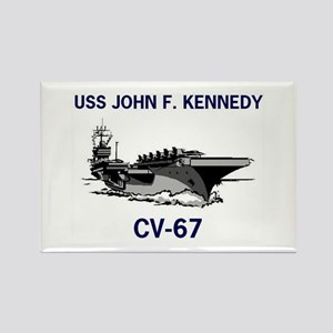 USS KENNEDY Rectangle Magnet (10 pack)