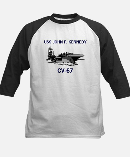 USS KENNEDY Kids Baseball Jersey