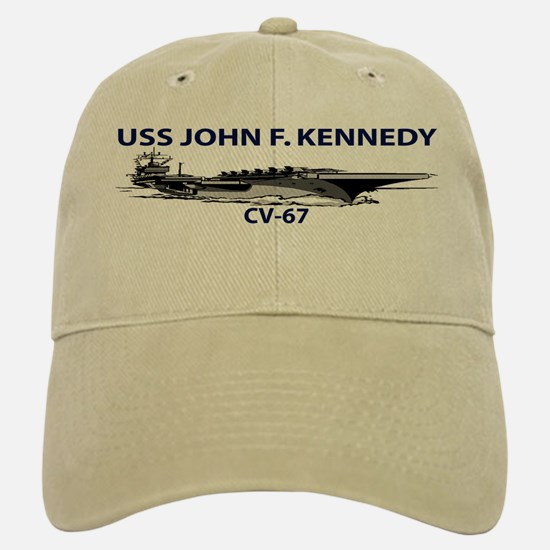 USS KENNEDY Baseball Baseball Cap