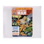 NEW MAN, October 1968 Throw Blanket