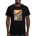 New Man, October 1968 Men's Fitted T-Shirt (dark)