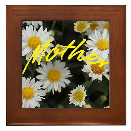 Mother (Mums) Framed Tile
