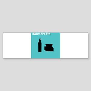 iMasterbate Bumper Sticker