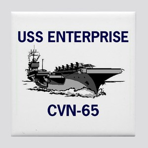USS ENTERPRISE Tile Coaster