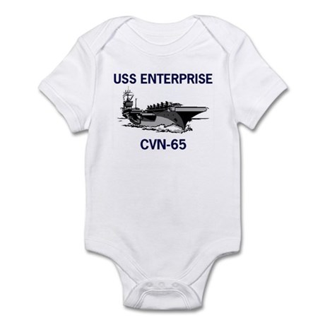 USS ENTERPRISE Infant Creeper