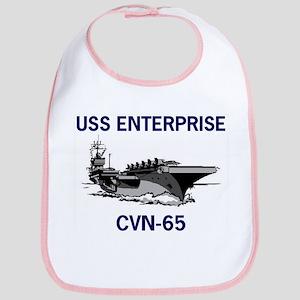 USS ENTERPRISE Bib