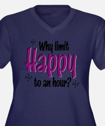 Limit Happy Hour? Plus Size T-Shirt