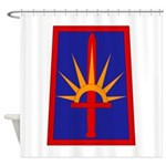 NY National Guard Shower Curtain