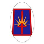NY National Guard Sticker (Oval)