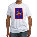 NY National Guard Fitted T-Shirt