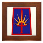 NY National Guard Framed Tile