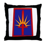 NY National Guard Throw Pillow