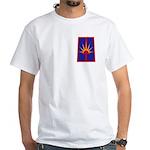 NY National Guard White T-Shirt