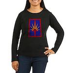 NY National Guard Women's Long Sleeve Dark T-Shirt