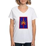 NY National Guard Women's V-Neck T-Shirt