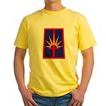 NY National Guard Yellow T-Shirt
