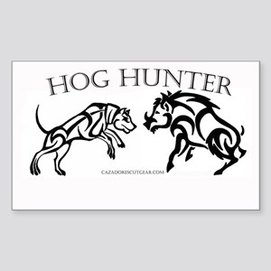 Hog Hunter Sticker (Rectangle)