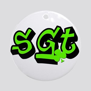 SGT Special Irish Edition Ornament (Round)