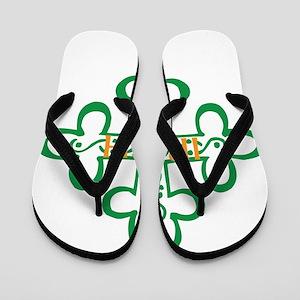 IRISH Flip Flops