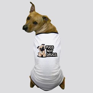 Pugs Not Drugs Dog T-Shirt