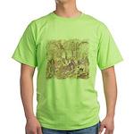 Wild Saguaros Green T-Shirt