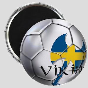 Sverige Viking Soccer Magnet